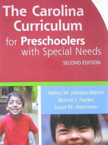Carolina Curriculum for Preschoolers with Special 2e (Spiral)