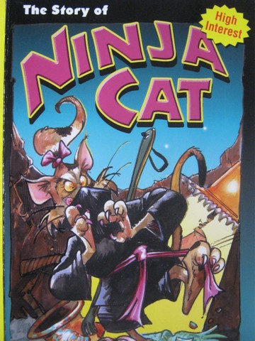 Pup Fiction Chapter Books The Story of Ninja Cat (P) by Heflick