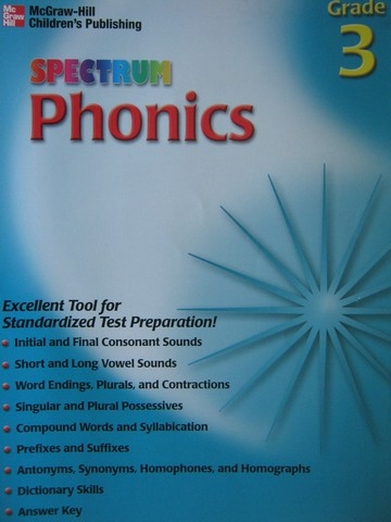 Spectrum Phonics Grade 3 (P) by Mary Lou Maples
