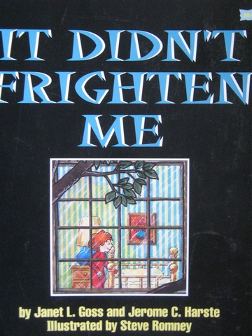 Book Shop It Didn't Frighten Me (P) by Goss & Harste