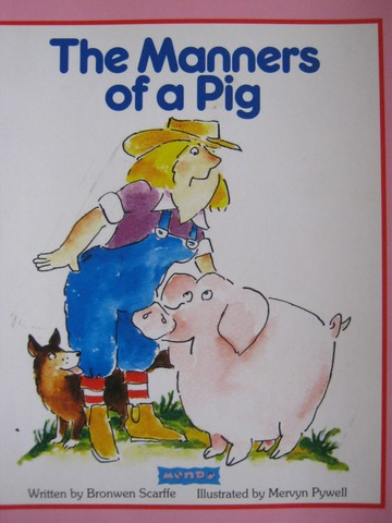 Book Shop The Manners of a Pig (P) by Bronwen Scarffe