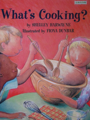 Book Shop What's Cooking? (P) by Shelley Harwayne
