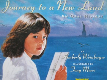 Book Shop Journey to a New Land (P) by Kimberly Weinberger