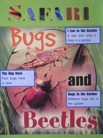 Reading Safari Magazine Bugs & Beetles (P)