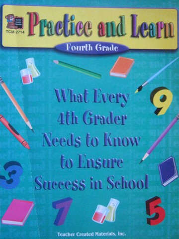 Practice & Learn 4th Grade (P) by Dona Herweck Rice