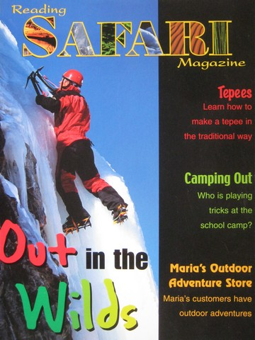 Reading Safari Magazine Out in the Wilds (P)