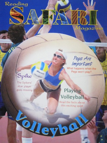Reading Safari Magazine Volleyball (P)