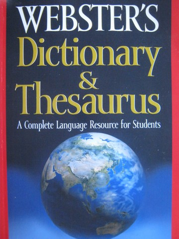Webster's Dictionary & Thesaurus (P)