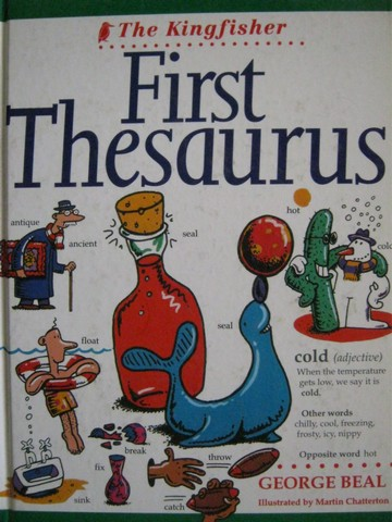 Kingfisher First Thesaurus (H) by George Beal
