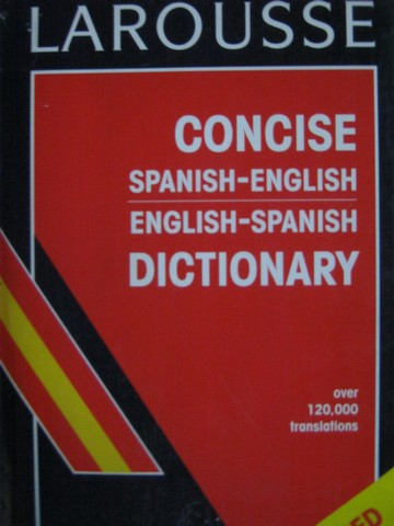 Concise Spanish-English English-Spanish Dictionary Revised (H)