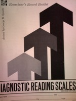 Diagnostic Reading Scales Revised Edition Examiner's Record (P)