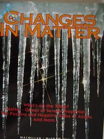 Science Turns Minds On Changes in Matter (P) by Atwater,