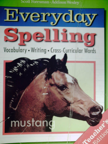 Everyday Spelling 8 TE (TE)(Spiral) by Beers, Cramer, Hammond,