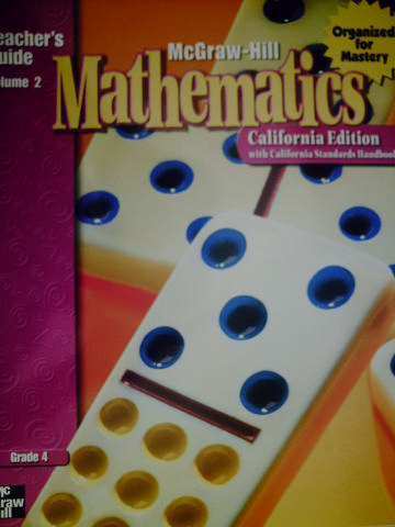 McGraw-Hill Mathematics 4 TG Volume 2 (CA)(TE)(Spiral)