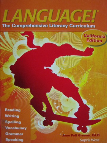 Language! 4th Edition C California Edition (CA)(H) by Greene