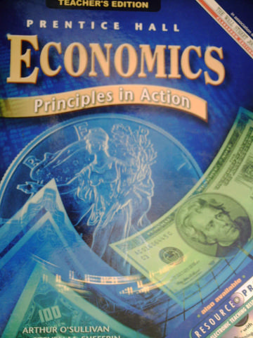 Economics Principles in Action TE (TE)(H) by O'Sullivan,