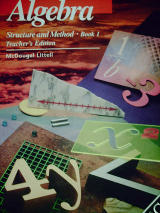Algebra Structure & Method Book 1 Classic TE (TE)(H) by Brown