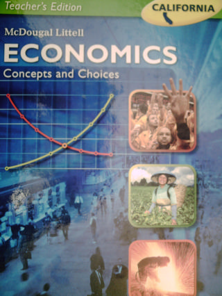 Economics Concepts & Choices TE (CA)(TE)(H) by Meek, Morton,