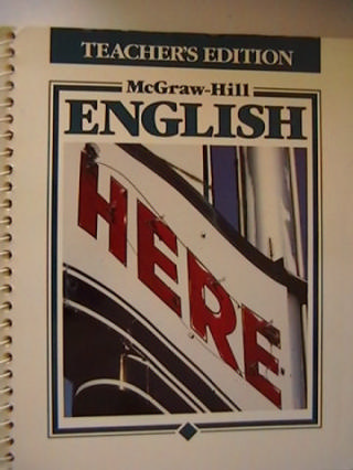 McGraw-Hill English Level 6 TE (TE)(Spiral) by Sulzby, Klein,