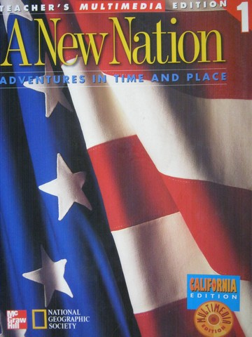 A New Nation 5 TE Volume 1 (CA)(TE)(Spiral) by Banks, Beyer,