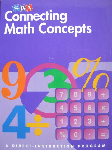 SRA Connecting Math Concepts E (H) by Engelmann, Kelly,