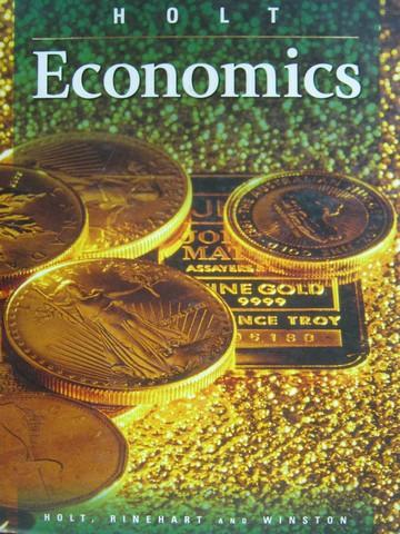 Books For Sale Holt Economics