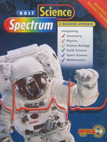 Science Spectrum A Balanced Approach ATE (TE)(H) by Dobson,
