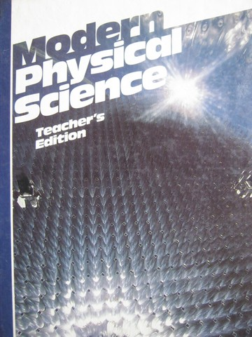 Modern Physical Science TE (TE)(H) by Tracy, Tropp, & Friedl