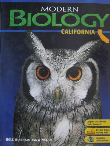 Modern Biology California Edition (CA)(H) by Postlethwait,