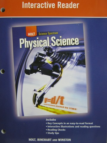 Science Spectrum Physical Science Interactive Reader (P)