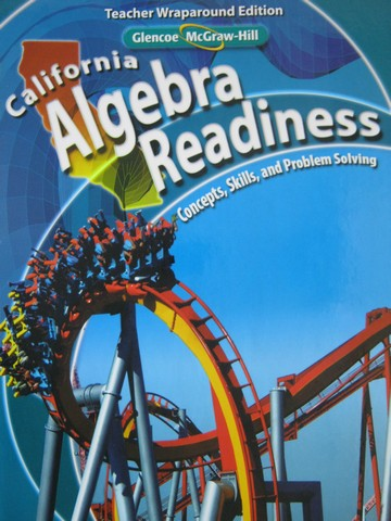 California Algebra Readiness TWE (CA)(TE)(H) by Price, Zike,