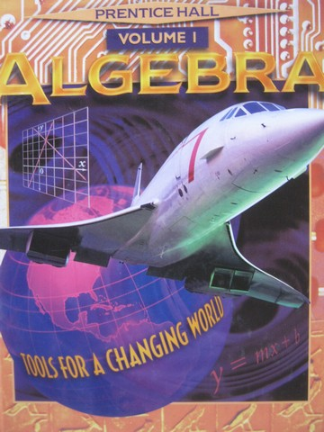 Algebra Tools for a Changing World Volume 1 (H) by Bellman,