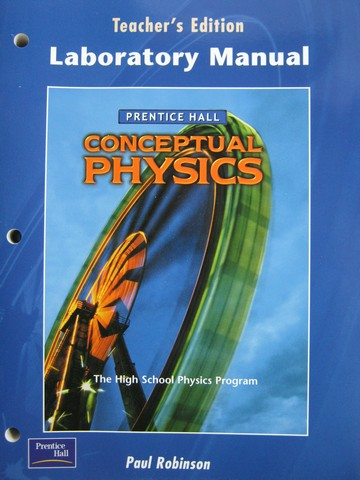 Conceptual Physics Laboratory Manual TE (TE)(P) by Robinson