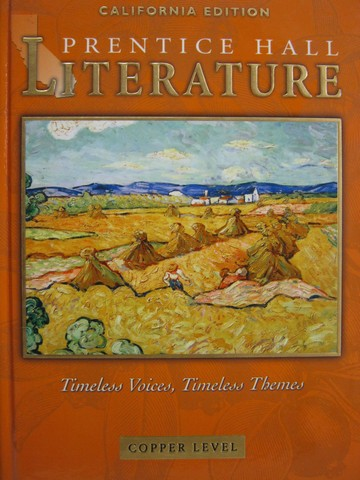 Literature Timeless Voices Timeless Themes Copper (CA)(H)