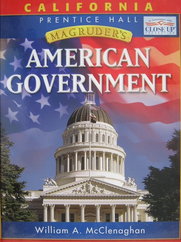 Magruder's American Government 2006 (CA)(H) by McClenaghan