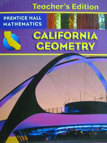 California Geometry Te Ca Te H By Bass Charles Hall