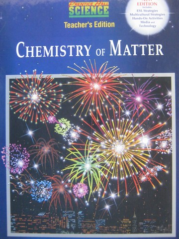 Chemistry of Matter New Edition TE (TE)(H) by Maton, Hopkins,