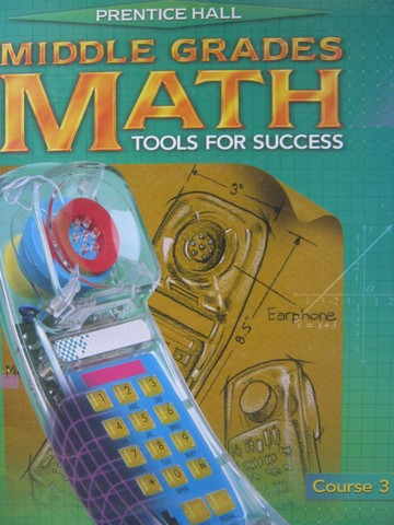 Middle Grades Math Tools for Success Course 3 TE (TE)(H)