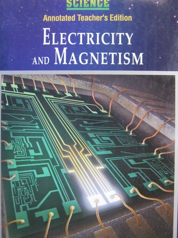 Electricity & Magnetism ATE (TE)(H) by Maton, Hopkins, Johnson,