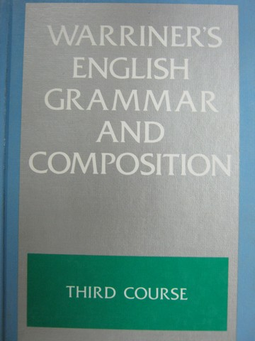 English Grammar & Composition 3rd Course Franklin Edition (H)