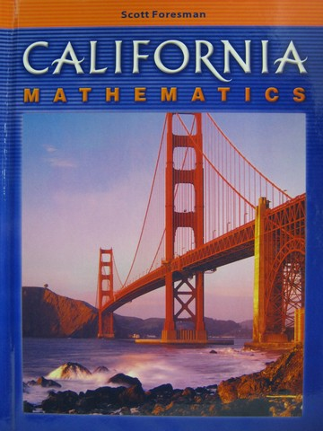 California Mathematics 6 (CA)(H) by Bennett, Groom, Long,