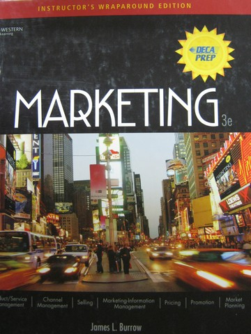 Marketing 3rd Edition IWE (TE)(H) by James L Burrow