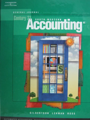 Century 21 Accounting Multicolumn Journal Textbook