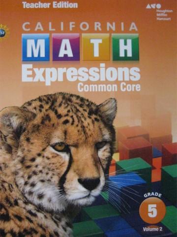 California Math Expressions Common Core 5 Volume 2 TE ...