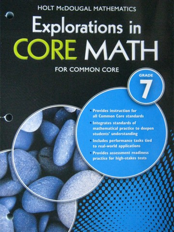 Explorations in Core Math for Common Core 7 (P)