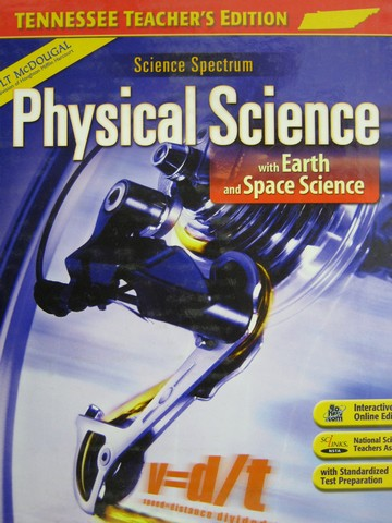Science Spectrum Physical Science w/Earth & Space TE (TN)(H)