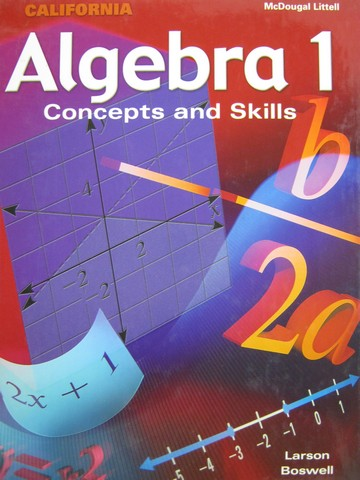 Algebra 1 Concepts & Skills California Edition (CA)(H)