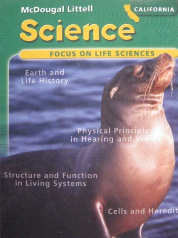 Focus on Life Sciences California Edition (CA)(H) by Trefil,