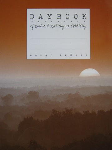 Daybook of Critical Reading & Writing 8 (P) by Claggett, Reid,
