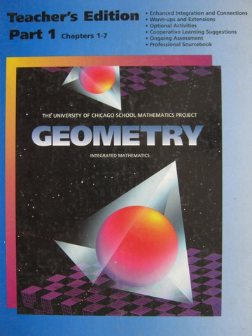 UCSMP Geometry 2nd Edition TE Part 1 (TE)(H) by Usiskin,